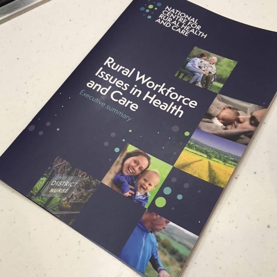 Rural Workforce issues in Health and Care