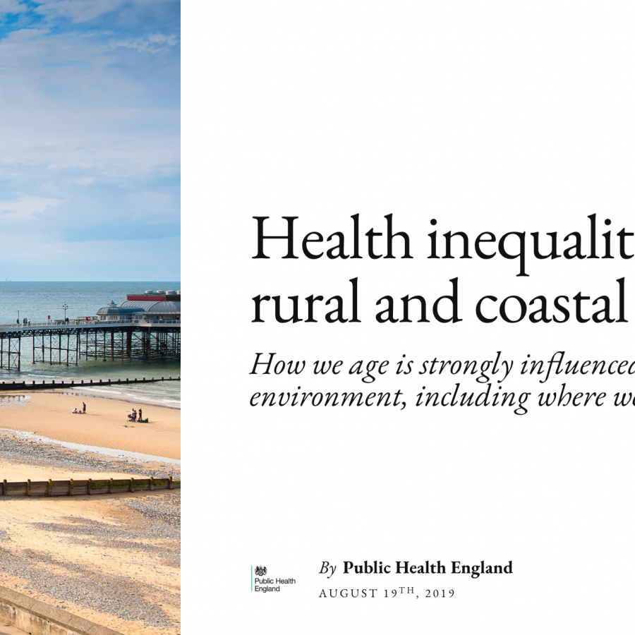 Health inequalities in rural and coastal areas